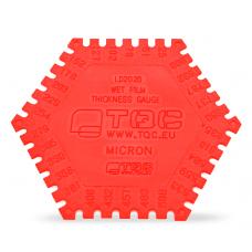 TQC Sheen LD2020 Пластиковая гребенка для определения толщины мокрого слоя